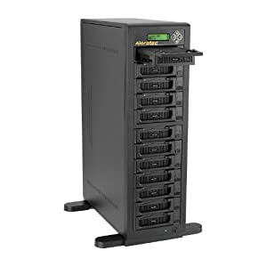 Aleratec Direct V2 1:11 HDD Copy Cruiser IDE/SATA-11 HDD Duplicator and 12 HDD Sanitizer  (350124)