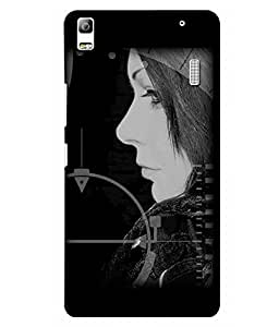 3D instyler DIGITAL PRINTED BACK COVER FOR LENOVO A7000