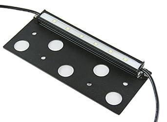 Trango Deckenleuchte Wandleuchte mit Radar Bewegungsmelder Sensorleuchte Automatikleuchte Automatiklampe Echtglas inkl. E27 LED Leuchtmittel