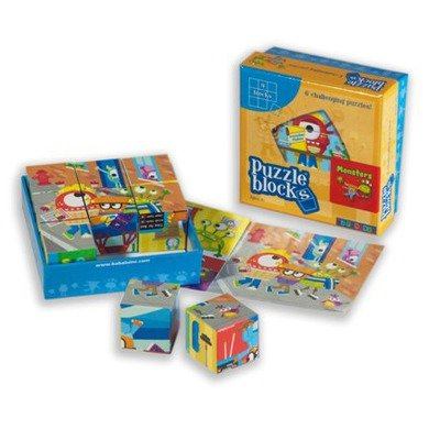 Babalu Monster Puzzle Block - 1