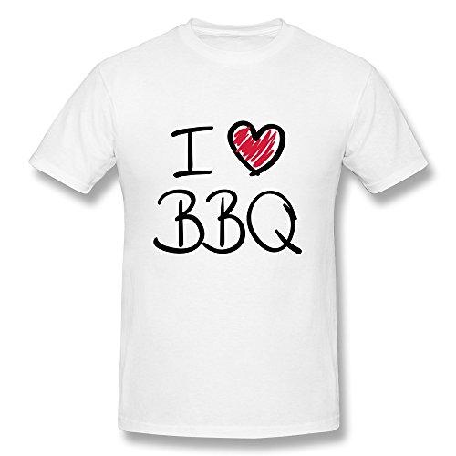 Particular Love BBQ Tees Custom T Shirt Preshrunk Cotton