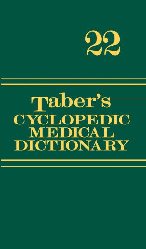 Taber's Cyclopedic Medical Dictionary (Thumb-indexed Version) (Taber's Cyclopedic Medical Dictionary (Thumb Index Version))