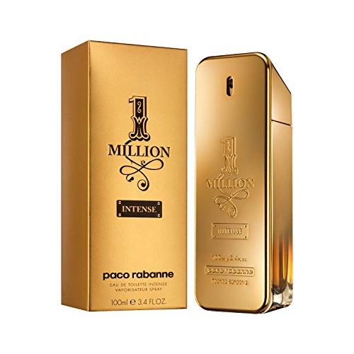 Paco Rabanne 1 Million Intense Eau de Toilette, Uomo, 100 ml