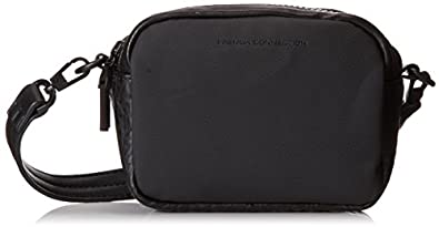 French Connection Contempo Mini Cross Body Bag,Black,One Size