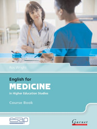 English For Medicine In Higher Education Studies. Course Book (+ Audio CD): Course Book and Audio CDs (English for Specific Academic Purposes)