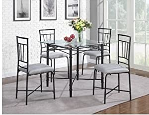 glass top dining table set for 4 dining room sets this dining room