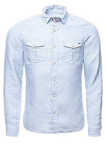 Freeman T. Porter -  Camicia Casual  - Uomo blu M