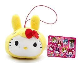 3.5 Official Sanrio Hello Kitty X Rody Plush Strap Yellow