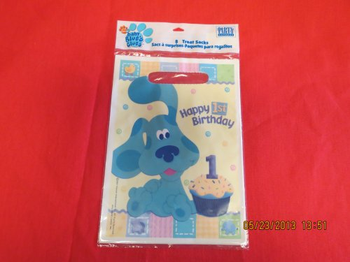 Nick Jr. Baby Blue's Clues Treat Sacks