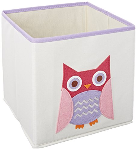 Whitmor-6241-4762-Kids-Canvas-Collection-Fox-Collapsible-Cube