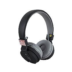 Acid Eye Black Bluetooth Headphone SH-12