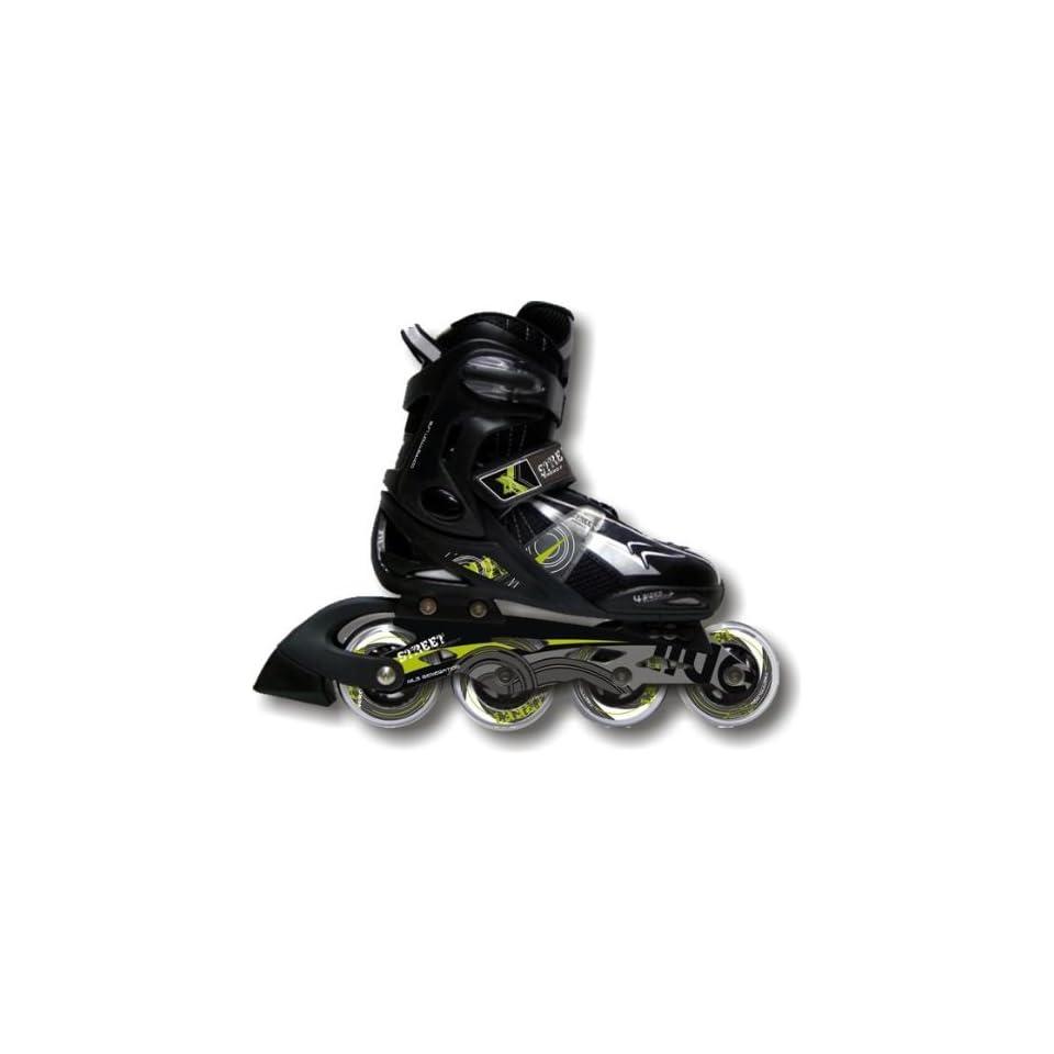 c4462460d56 Inline Skates Extreme Black Gr.40 43 Sport & Freizeit on PopScreen
