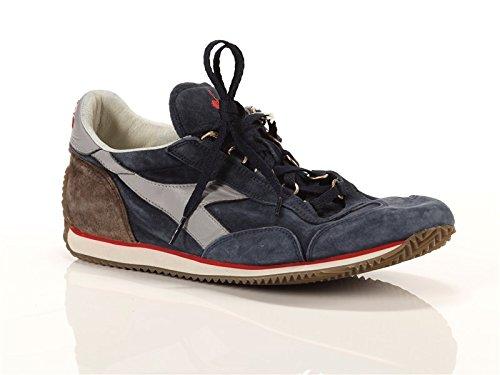 Diadora Heritage, Uomo, Equipe S SW Blu Grigio, Suede, Sneakers, Blu, 42.5 EU