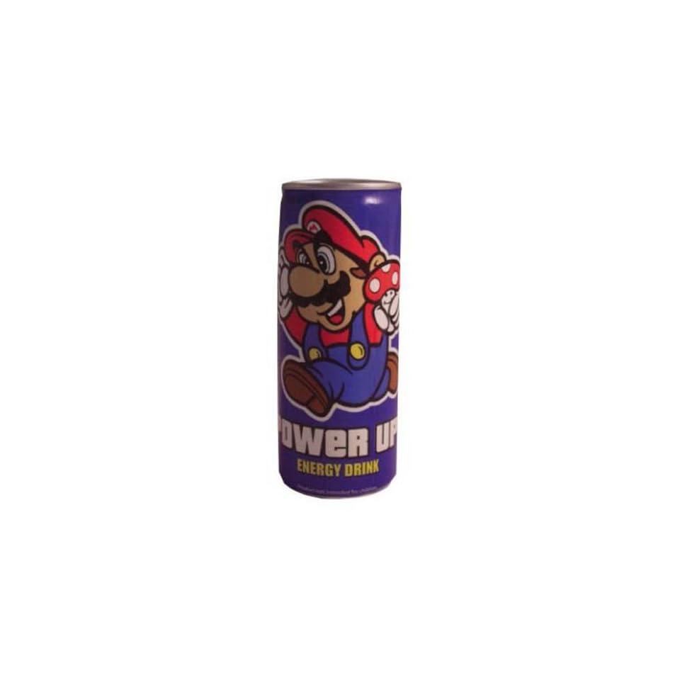 Nintendo Super Mario Bros Power Up Energy Drink