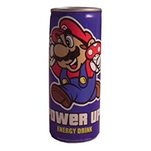 Nintendo Super Mario Bros Power Up Energy Drink