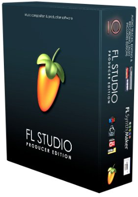 FL Studio 10 Producer Edition (Educational Price) Fruityloops Software with Audio Recording and Editing