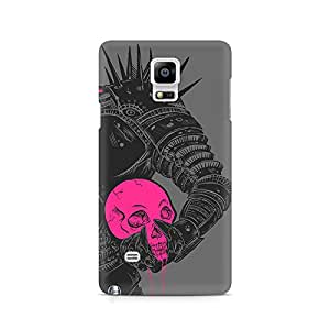 Mobicture Skull Abstract Premium Printed Case For Samsung Note 4 N9108