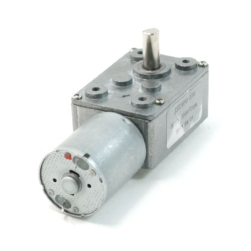 3500/2Rpm Output Rotating Speed 2 Pin 6Mm Shaft Geared Motor 12V Volts