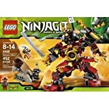 Mighty Lego Ninjago 9448 Samurai Mech - Fang Blade With Orange Anti-Venom Capsule And Weapon Toy / Game / Play / Child / Kid