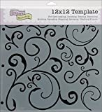 Crafters Workshop 12 Inch x12 Inch Templates - Capricious
