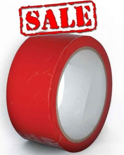 Blood Red Bondage Tape ADULT FUN PLAY BONDAGE TAPE 20M FETISH HEN 20 Metre Roll of Bondage Tape