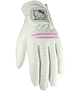 Hello Kitty Ladies Golf Glove Set, Pink/White, 19cm