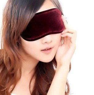 Magnetic Sleeping Eye Mask With Ear Plugs (Red) Health Care Eye Mask For Good Sleeping- Solves Any Sleeping Behavior Patterns, Ideal For Children