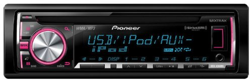Pioneer Deh-X3600S Cd Receiver With Mixtrax(Tm), Siriusxm(Tm) Ready, Android(Tm) Media Access & 2 Sets Of Rcas