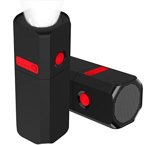 SINOELE Power Bank 10000mAh LED フラッシュライト USBチャージャー フォーンチャージャー 携帯に便利なモバイルバッテリー  急速充電器 iPhone / iPad/ Samsung Galaxy等対応