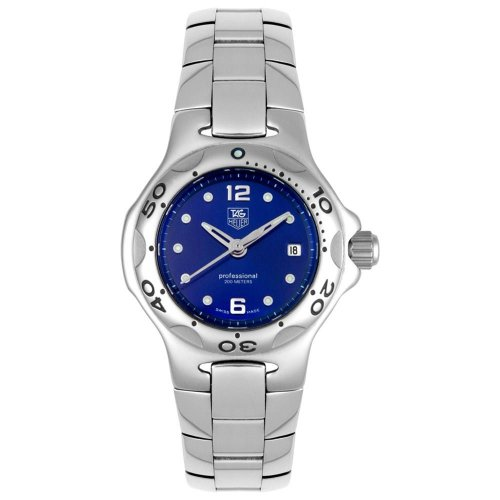 Tag heuer watches buy tag heuer women 39 s wl131f ba0710 kirium quartz stainless steel watch for Tag heuer discount