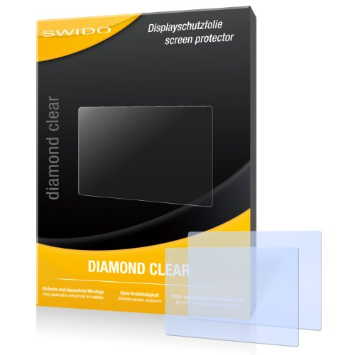 2 x SWIDO Diamond Clear Displayschutzfolie