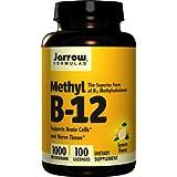 Jarrow Methylcobalamin B12, 1000mcg, 100 Lemon Flavour Vegan Lozenges (1000mcg, 100 Lemon Flavour Vegan Lozenges)by Jarrow Formulas