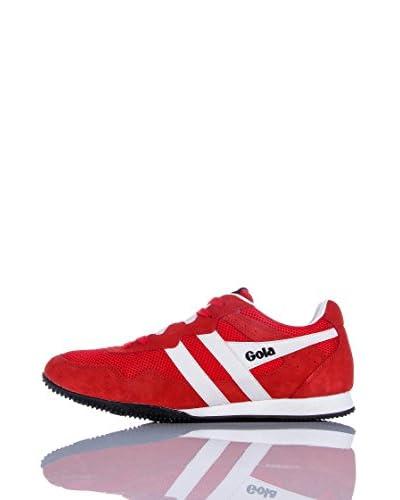 Gola Sneaker Sprinter [Blu/Arancione]