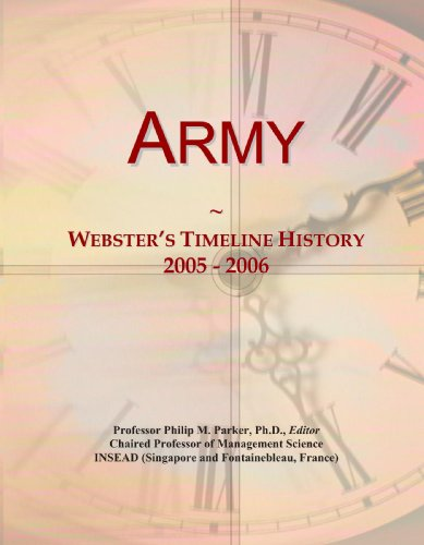 Army: Webster's Timeline History, 2005 - 2006