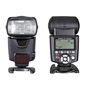 The Very Newly Speedlite HSS Up to 1/8000 TTL Flash Speedlite Speedlight YN500EX YN-500EX for Canon 60D 600D 50D 650D 5550D 500D 450D