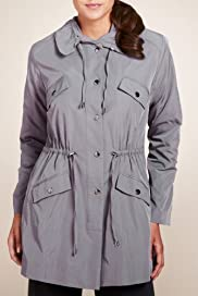 Per Una Adjustable Waist Parka [T62-8911I-S]