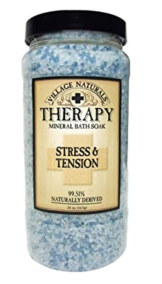 Best Cheap Deal for Village Naturals Mineral Bath Salts Soak, Relief for Joint and Muscle Pain Combining Epsom Salts, Juniper, Orange and Menthol Essential Oils and Extracts, 20 ounces from The Village Company - Free 2 Day Shipping Available