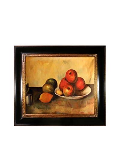 Paul Cézanne Still Life With Apples Framed Canvas