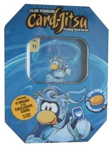 Club Penguin Card-Jitsu Water Tin