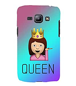 Queen 3D Hard Polycarbonate Designer Back Case Cover for Samsung Galaxy J1 2016 :: Samsung Galaxy J1 2016 Duos :: Samsung Galaxy J1 2016 J120F :: Samsung Galaxy Express 3 J120A :: Samsung Galaxy J1 2016 J120H J120M J120M J120T