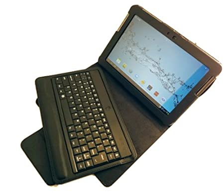GSAstore ™ Bluetooth ® Keyboard and Case for Samsung GALAXY Tab 2 10.1