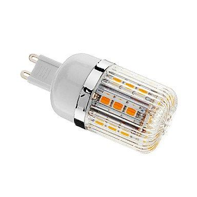 Rayshop - Dimmable G9 4W 30Xsmd 5050 400Lm 3000-3500K Warm White Light Led Corn Bulb(Ac 110-130V)