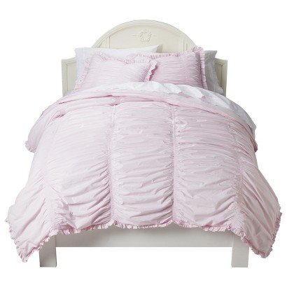 Shabby Chic Pink Bedding 4155 back