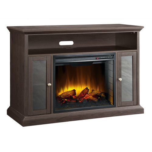 Best Price Pleasant Hearth 23-Inch Riley Espresso Media Electric Fireplace