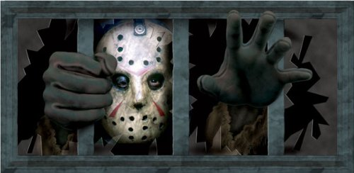 Jason Dreadful Window Wall Decal