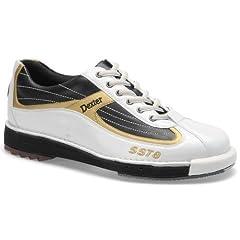 Buy Dexter Mens SST 8 Bowling Shoes- White Black Gold (10 1 2)