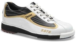 Buy Dexter Mens SST 8 Bowling Shoes- White Black Gold (9 1 2)