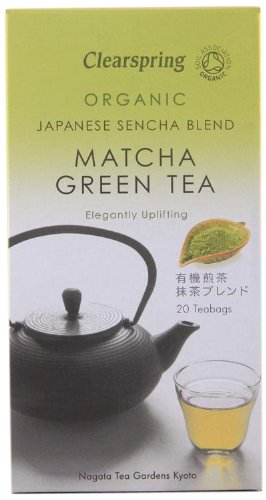 Clearspring Organic Japanese Matcha Green Tea 20 Teabags