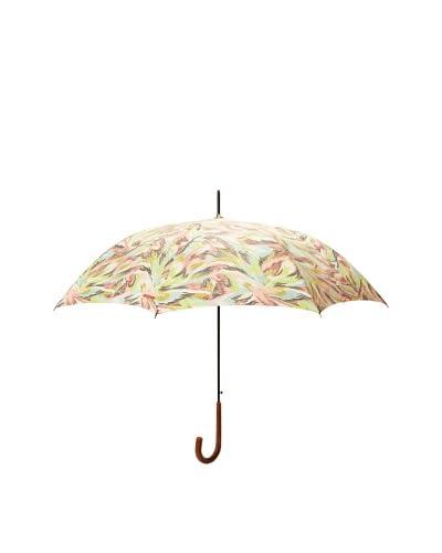 Missoni Women's Piume Long Stick Umbrella, Lime/Pink
