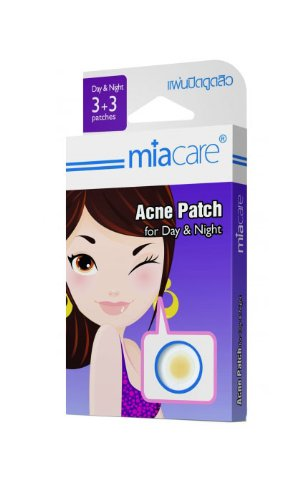 Miacare Mini Acne Patch Mix 3+3 For Day & Night : 2 Box